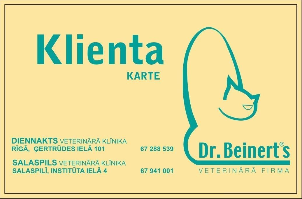 Dr. Beinerts Klienta kartes